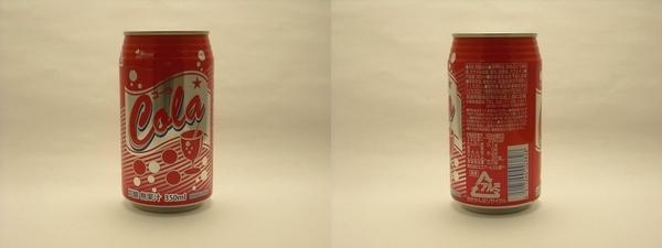ベイシアコーラ 350ml缶(2011/08現在)