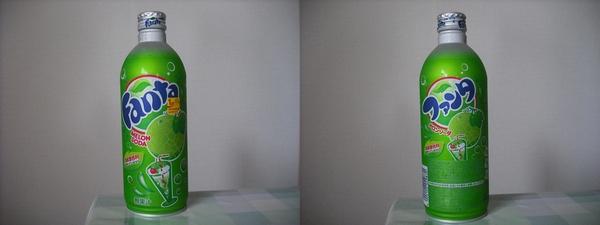 ファンタメロンソーダ 500ml缶(2011/08現在)