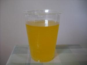 神戸居留地サイダーオレンジの色(2011/08現在)