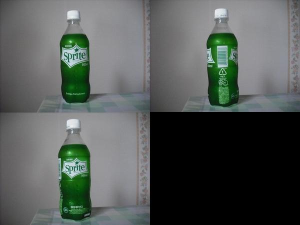 Sprite 500mlペットボトル(2011/08現在)