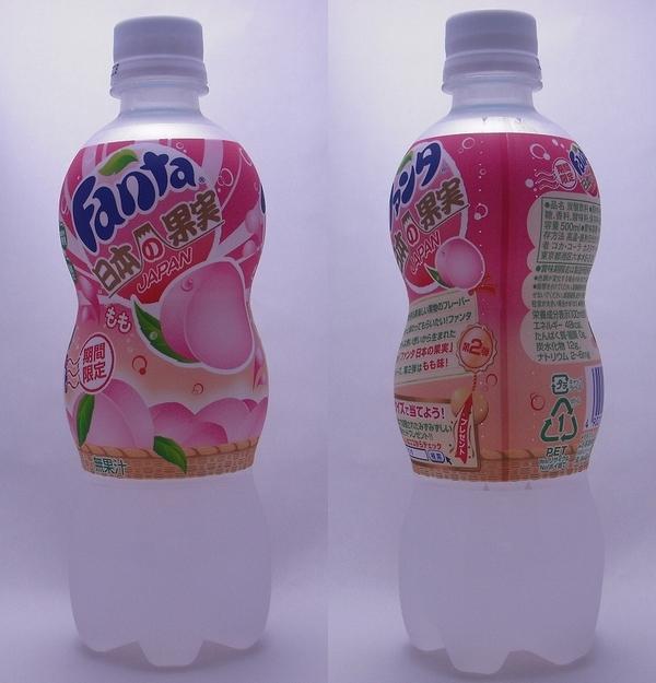 ファンタ 日本の果実もも 500mlペットボトル(2011/09現在)