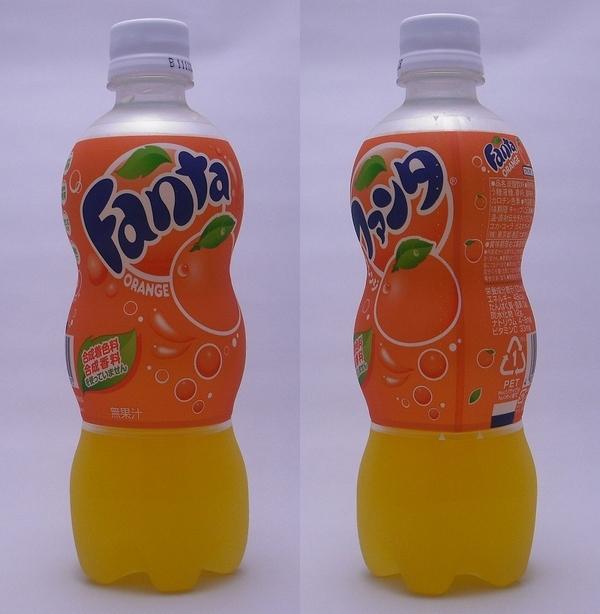 ファンタオレンジ 500mlペットボトル(2011/09現在)