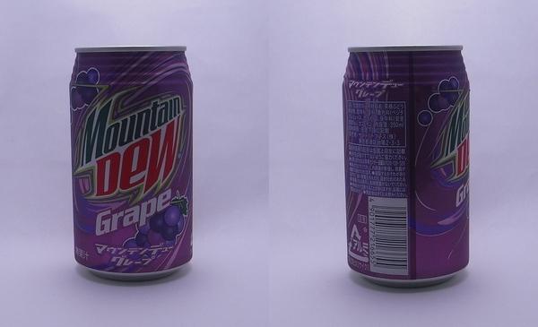 マウンテンデューグレープ 350ml缶(2011/09現在)