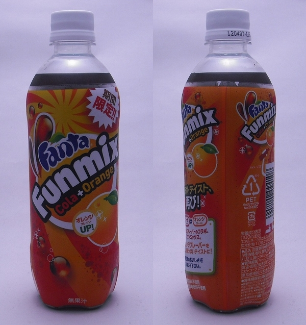 ファンタ ファン ミックス 500mlペットボトル(2011/12現在)