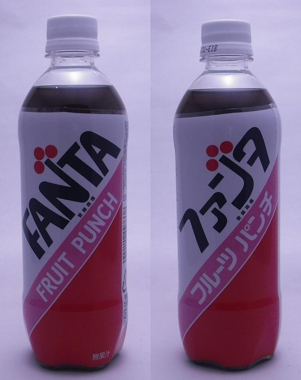 ファンタ フルーツパンチ 500mlペットボトル(2012/03現在)