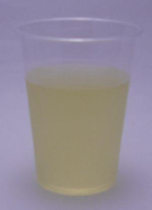 アクエリアス スパークリングレモンの色(2012/06現在)