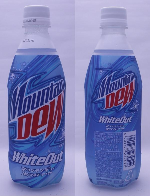 マウンテンデューホワイトアウト 500mlペットボトル(2012/06現在)