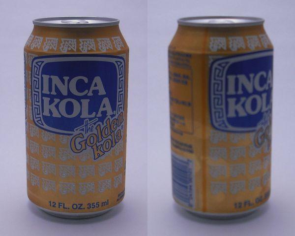 インカコーラ(INKA KOLA) 355ml缶(2012/10現在)