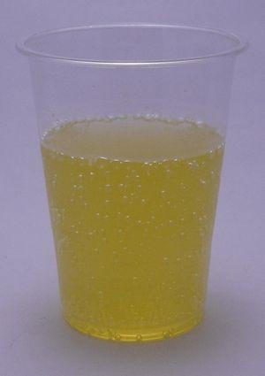 ベイシアオレンジソーダの色(2012/10現在)