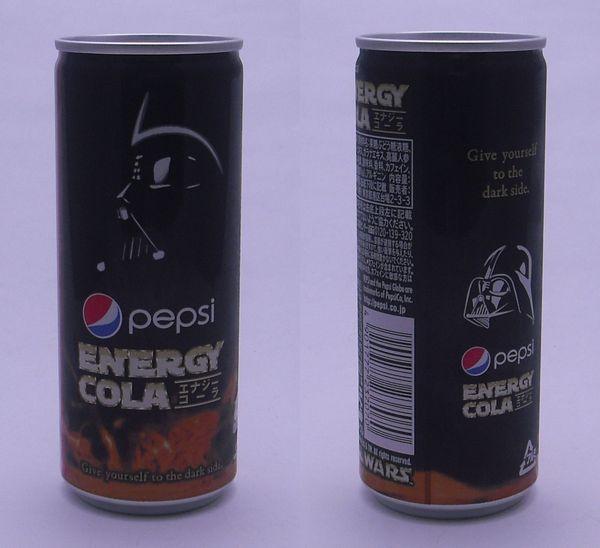 ペプシ エナジーコーラ 250ml缶(2012/11現在)