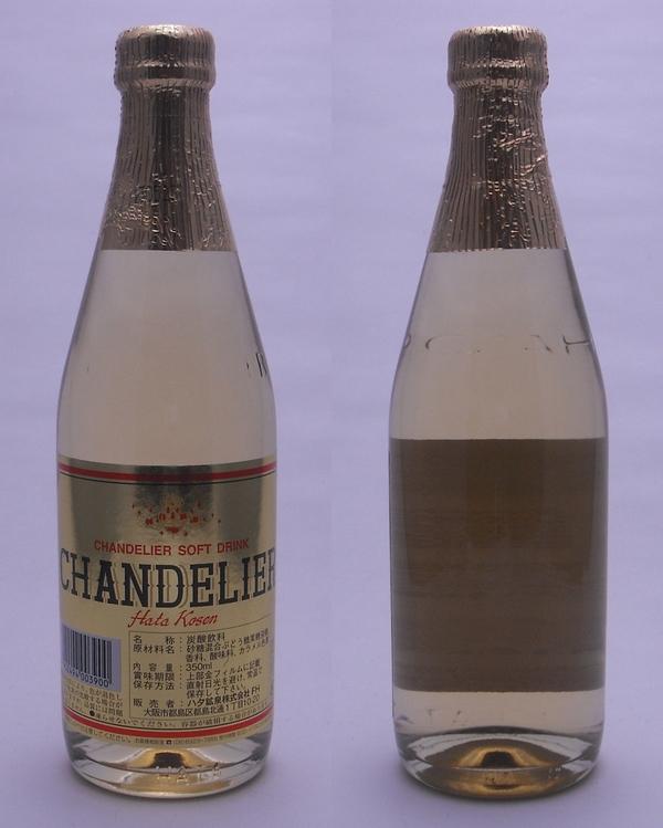 ハタ鉱泉 CHANDELIER(シャンデリア) 350ml瓶